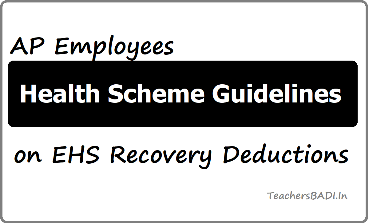 AP Employees Health Scheme Guidelines
