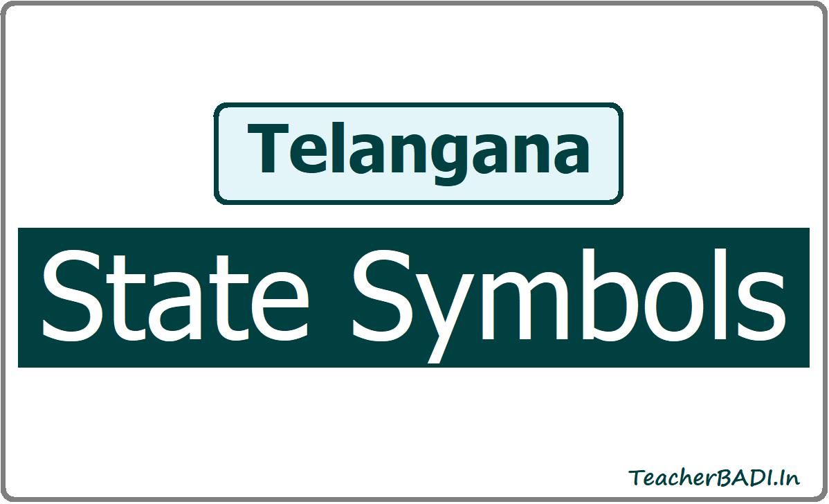 Telangana State Symbols