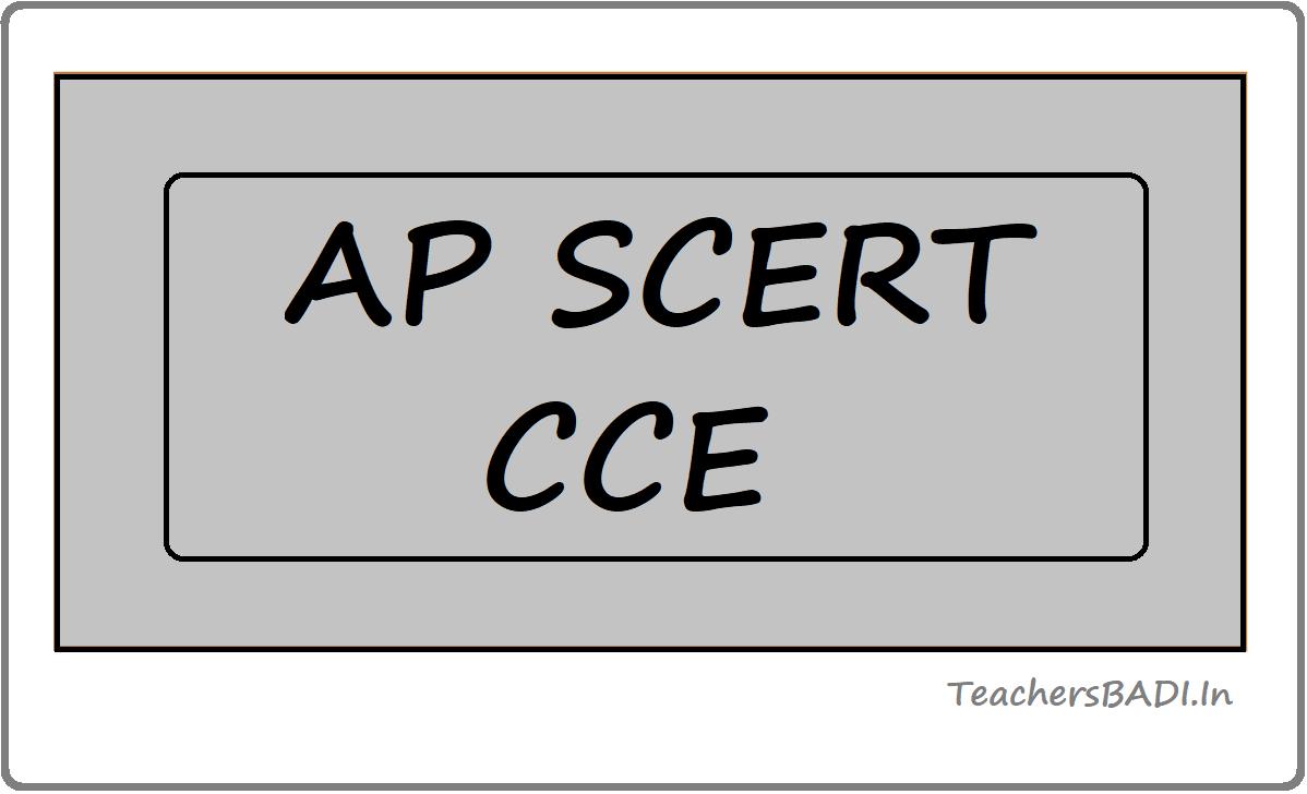 AP SCERT CCE