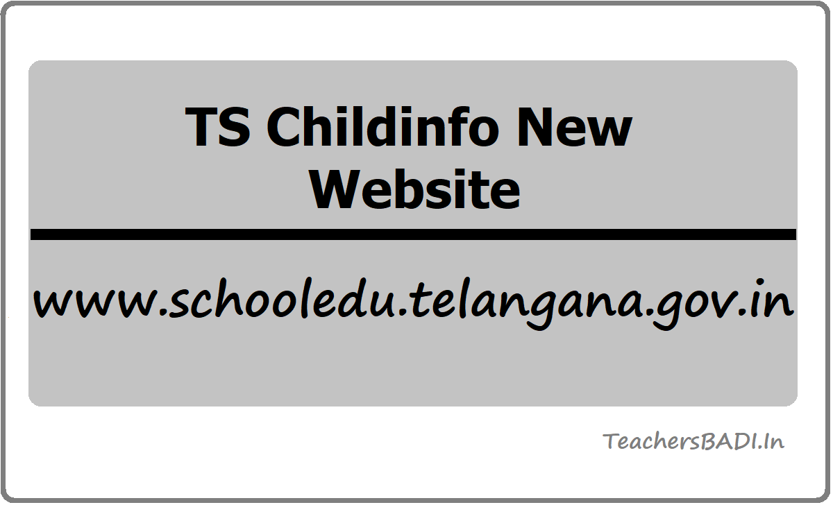 TS Childinfo New Website