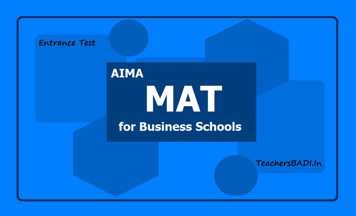 AIMA MAT February 2020