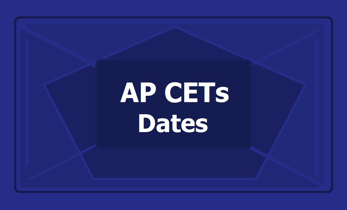 AP CETs Dates 2020