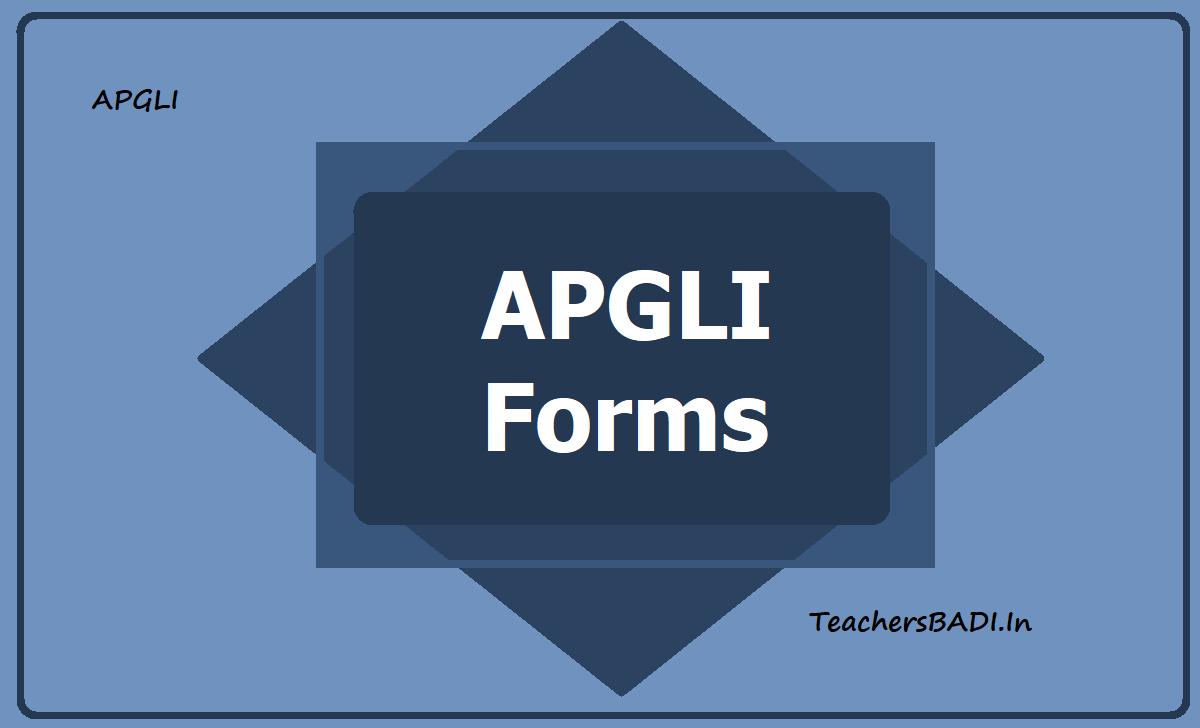 APGLI Forms