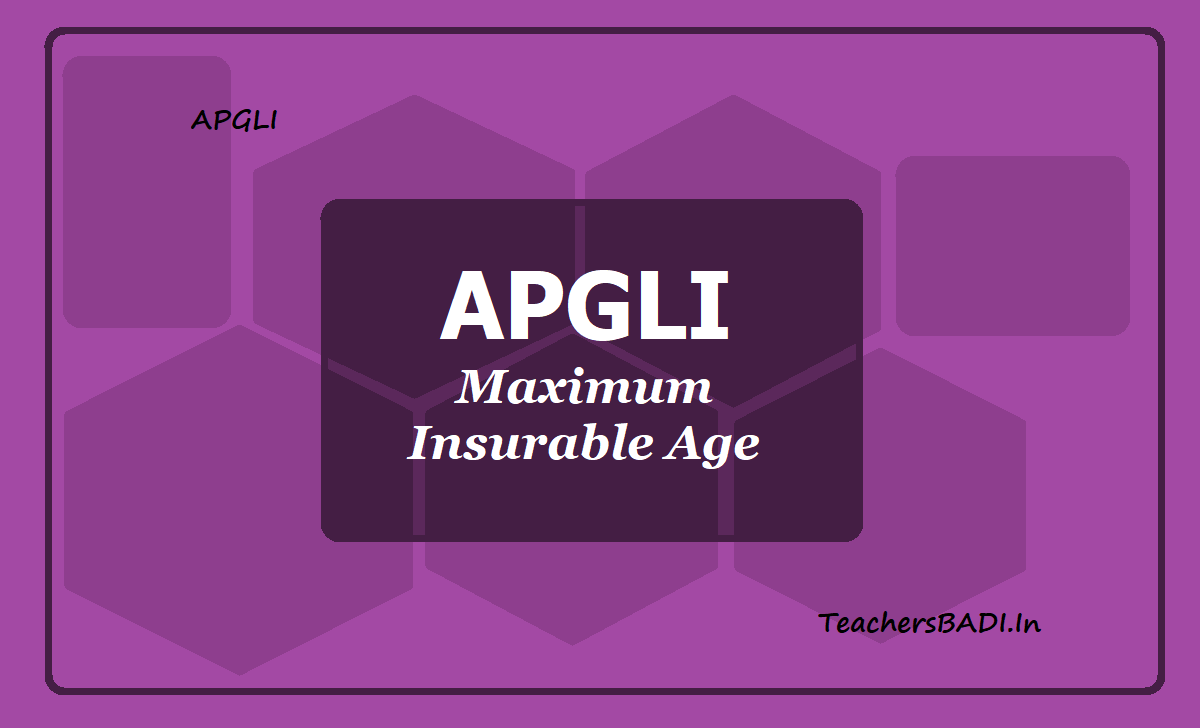APGLI Maximum Insurable Age