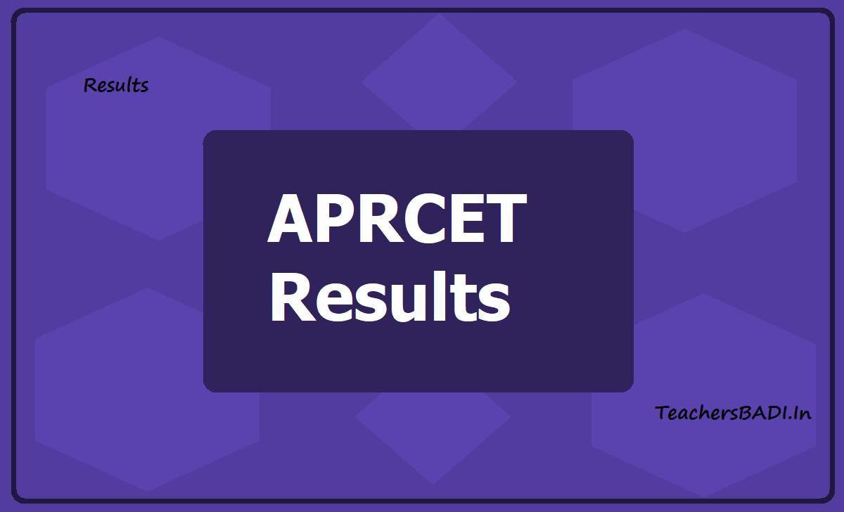 APRCET Results 2020