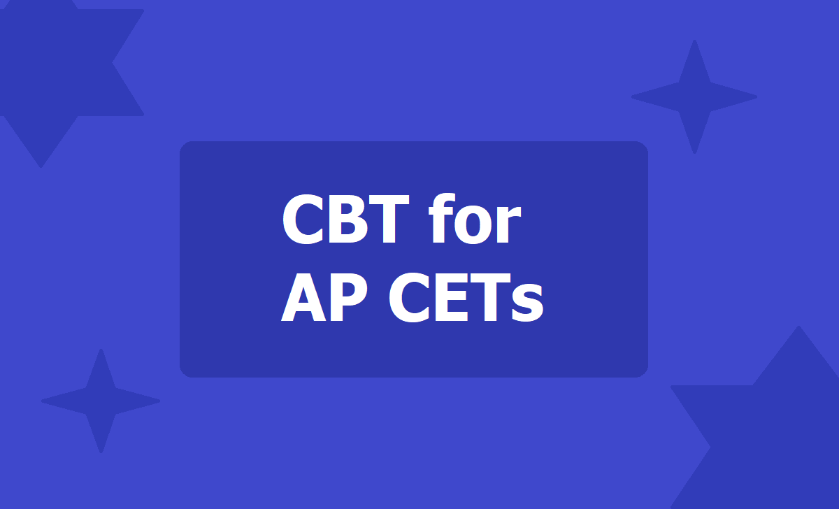 Computer Based Test for AP CETs