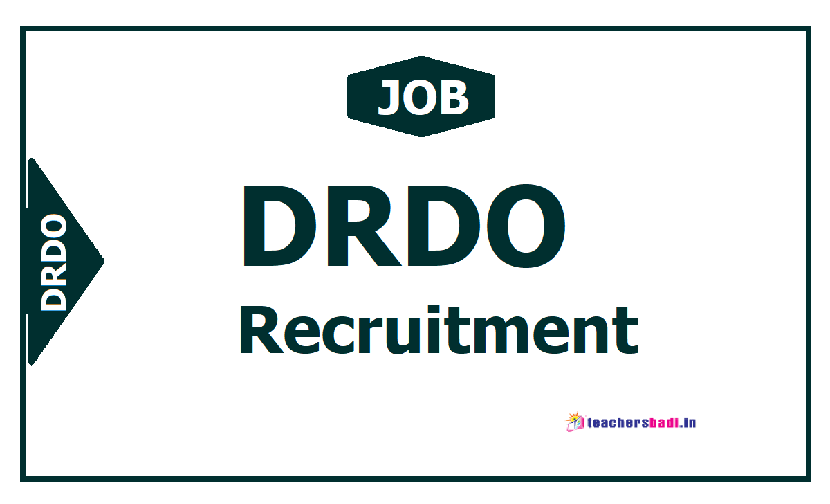 DRDO MTS Posts Recruitment 2020