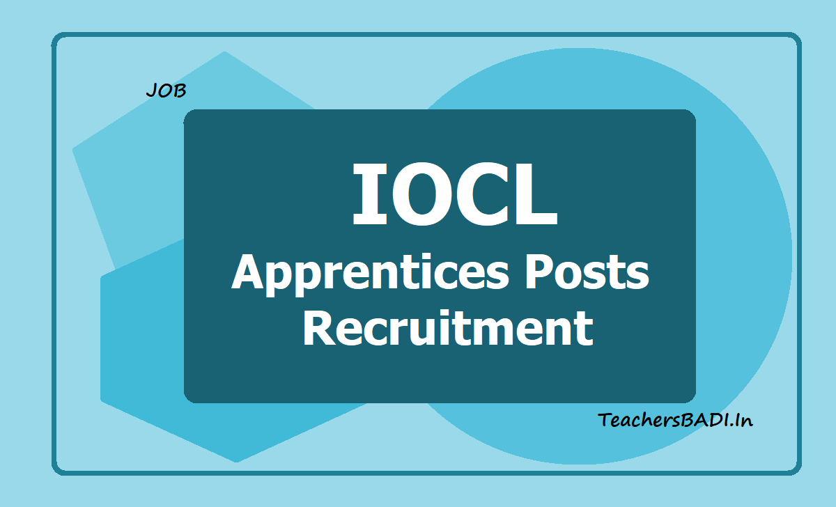IOCL Apprentices Posts Recruitment 2019