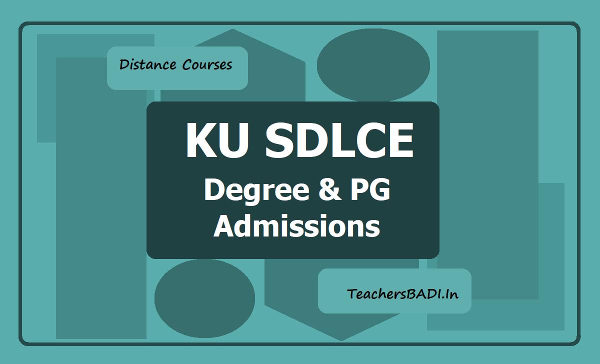 KU Degree & PG Admissions