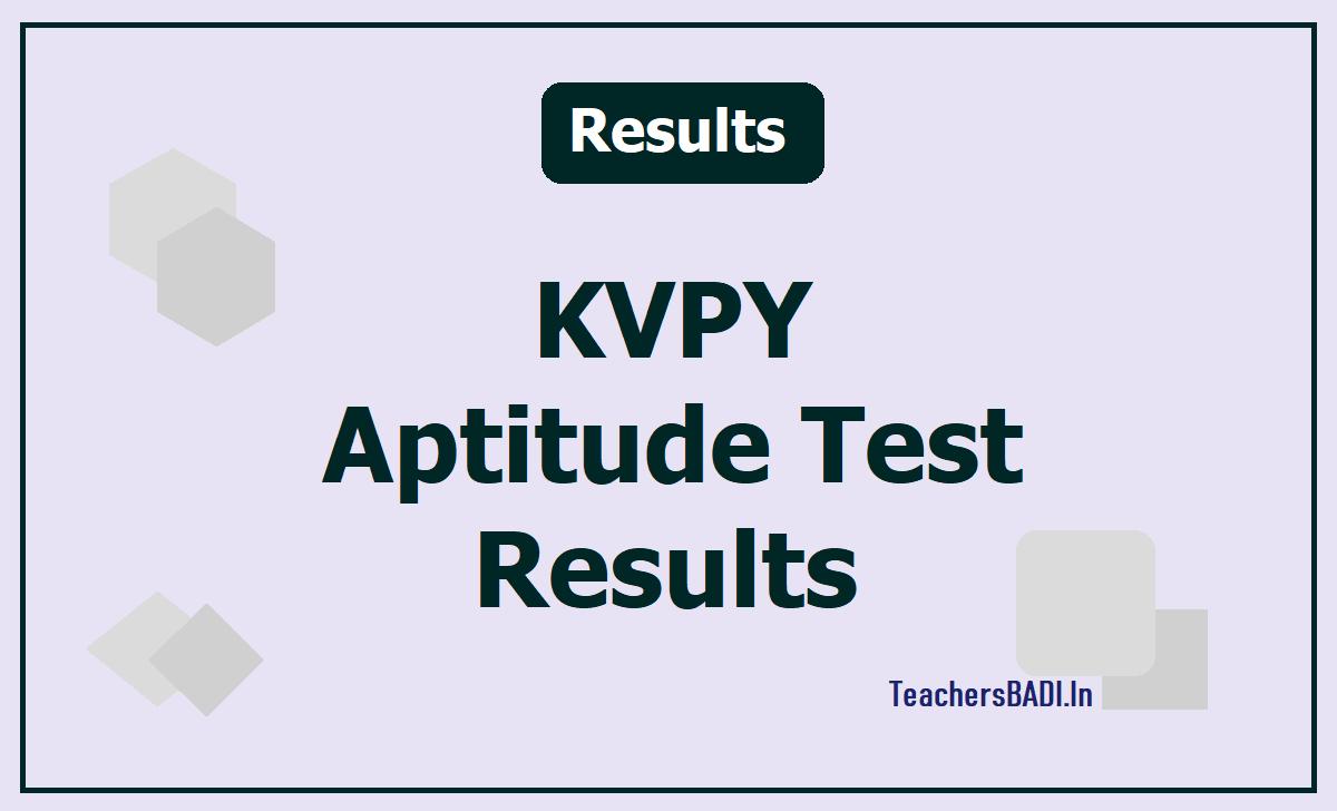 KVPY Result 2020