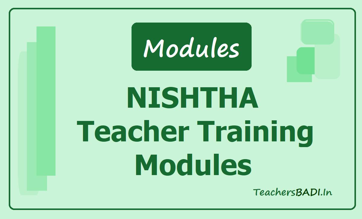 NISHTHA Teacher Training Modules, Leadership Modules (NISHTHA Course Material)