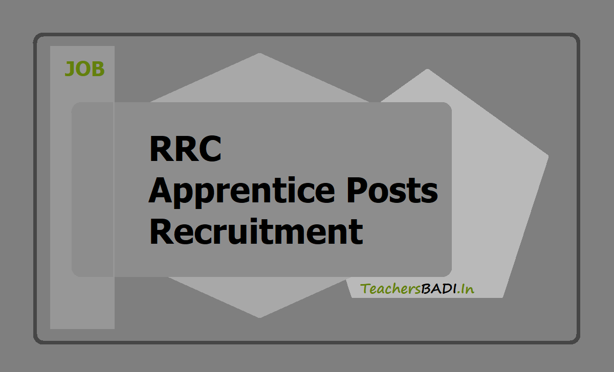 RRC Apprentice Posts 2020