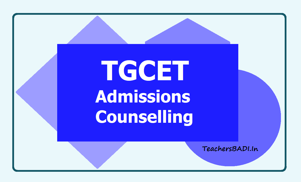 TGCET Admissions Counselling