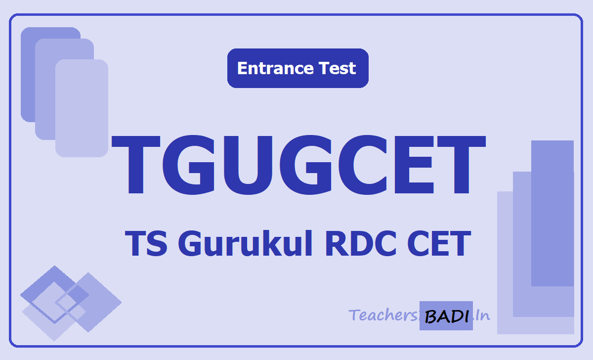 TGUGCET 2020 (TS Gurukul Degree Entrance Test)