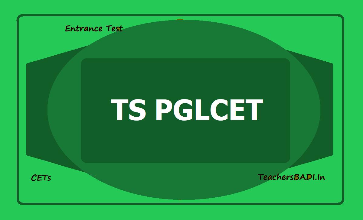 TS PGLCET 2020