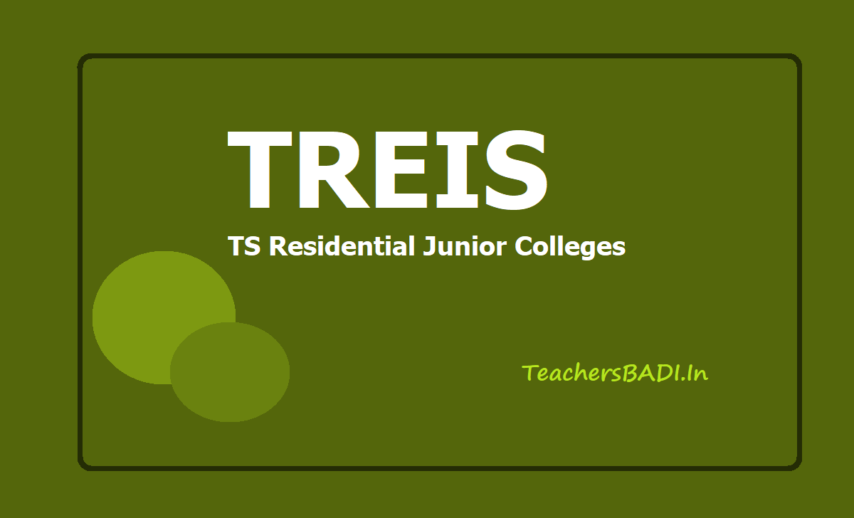 TS Residential Junior Colleges