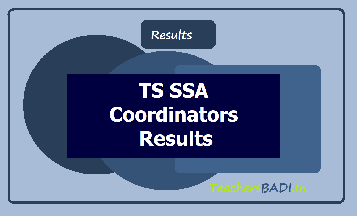 TS SSA Coordinators Results 2020