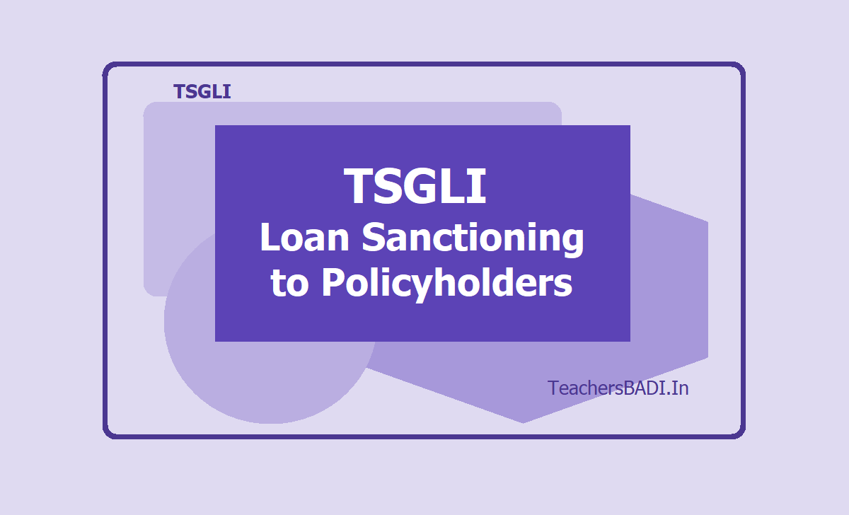 TSGLI Loan Sanctioning to Policyholders