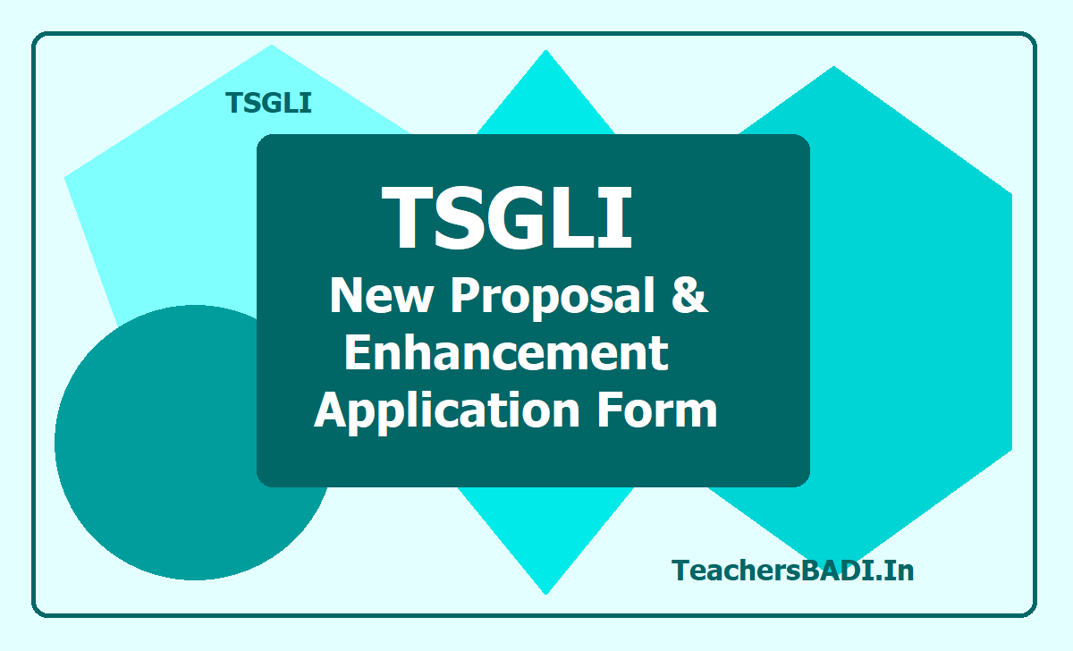 TSGLI New Proposal and Enhancement Application Form