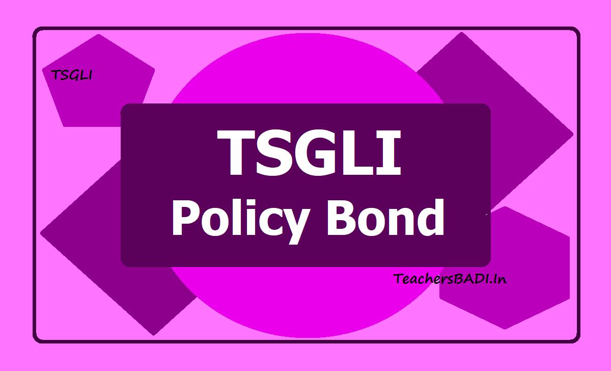 Download TSGLI Policy Bond