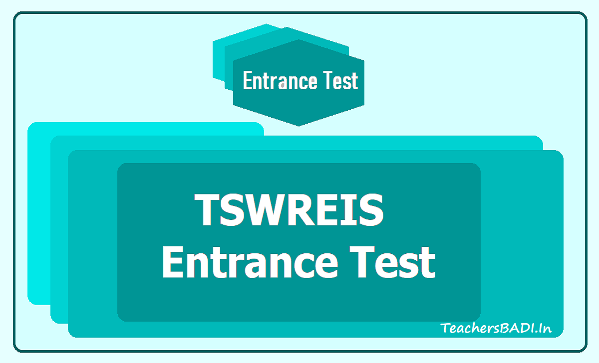 TSWREIS Entrance Test 2020
