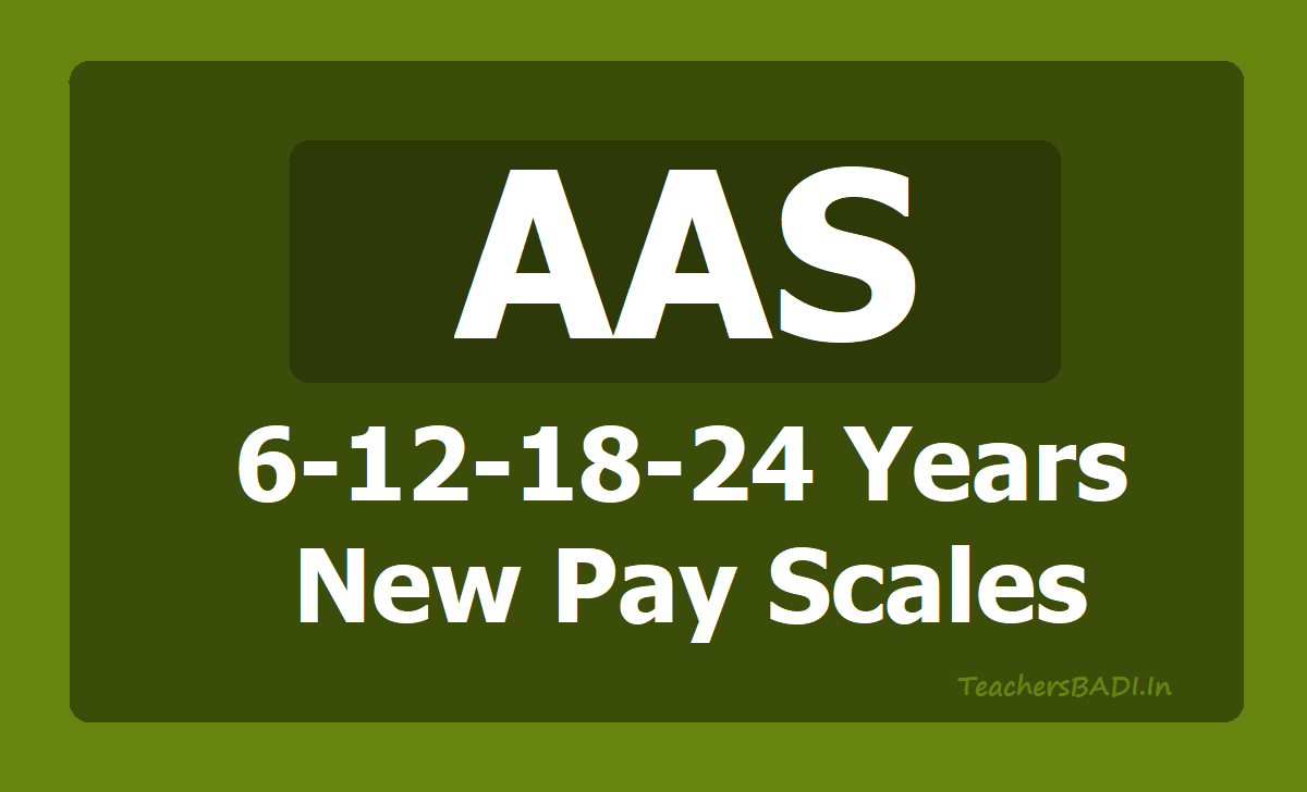 AAS 6-12-18-24 Years New Pay Scales