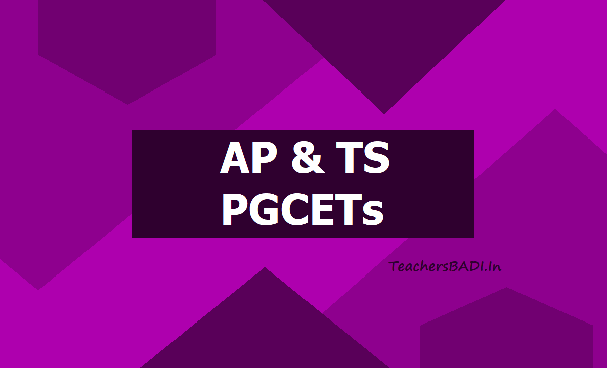 AP TS PGCETs 2020