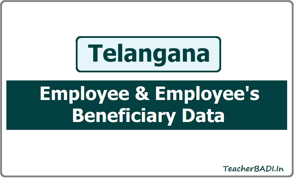 Employee & Employee's Beneficiary Data