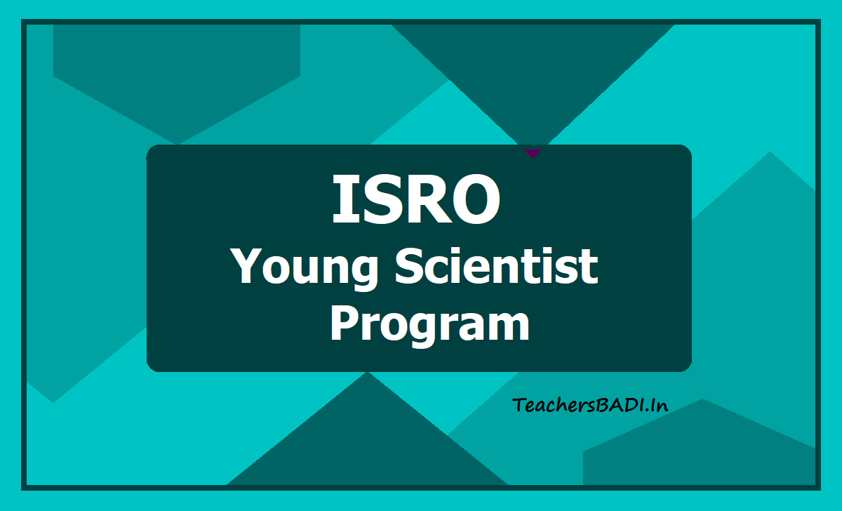 ISRO Young Scientist Program