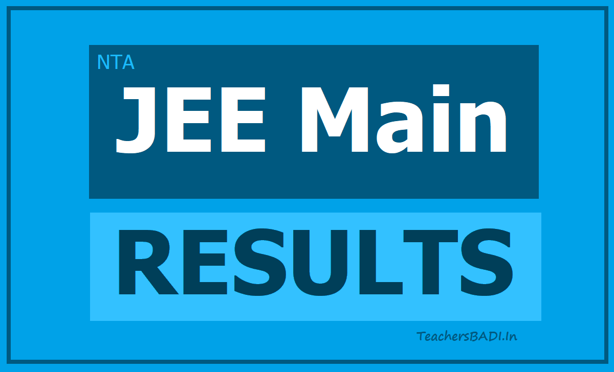 JEE Main Exam Results & Scores