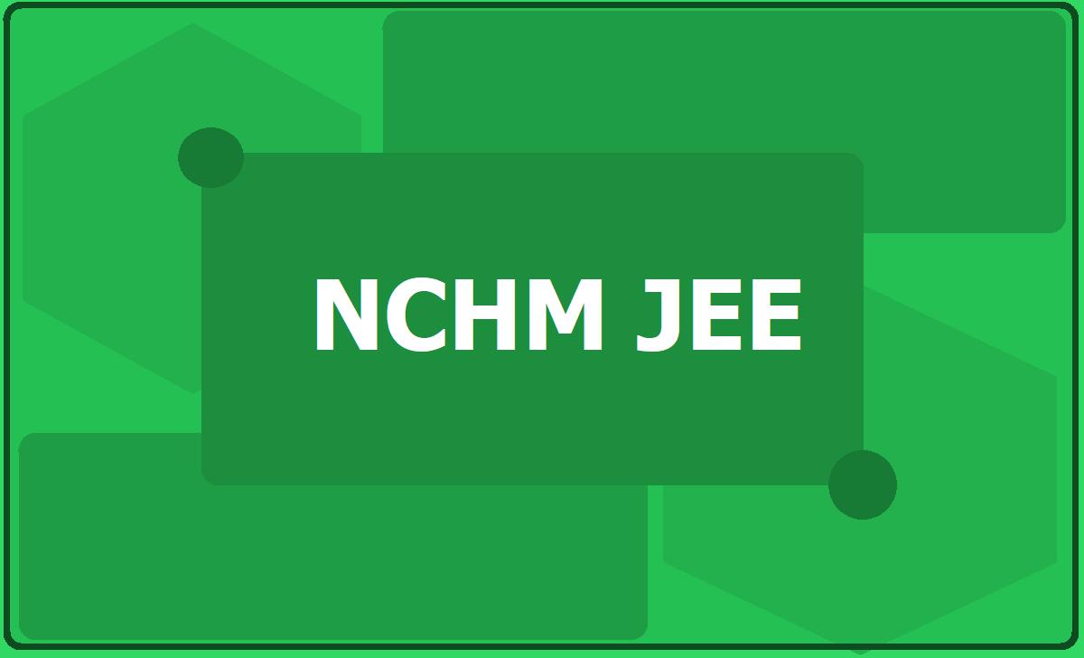NCHM JEE