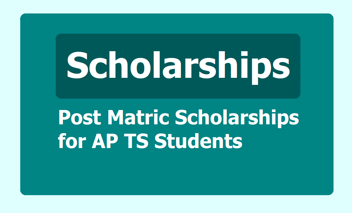 Post-Matric Scholarships to AP TS Students