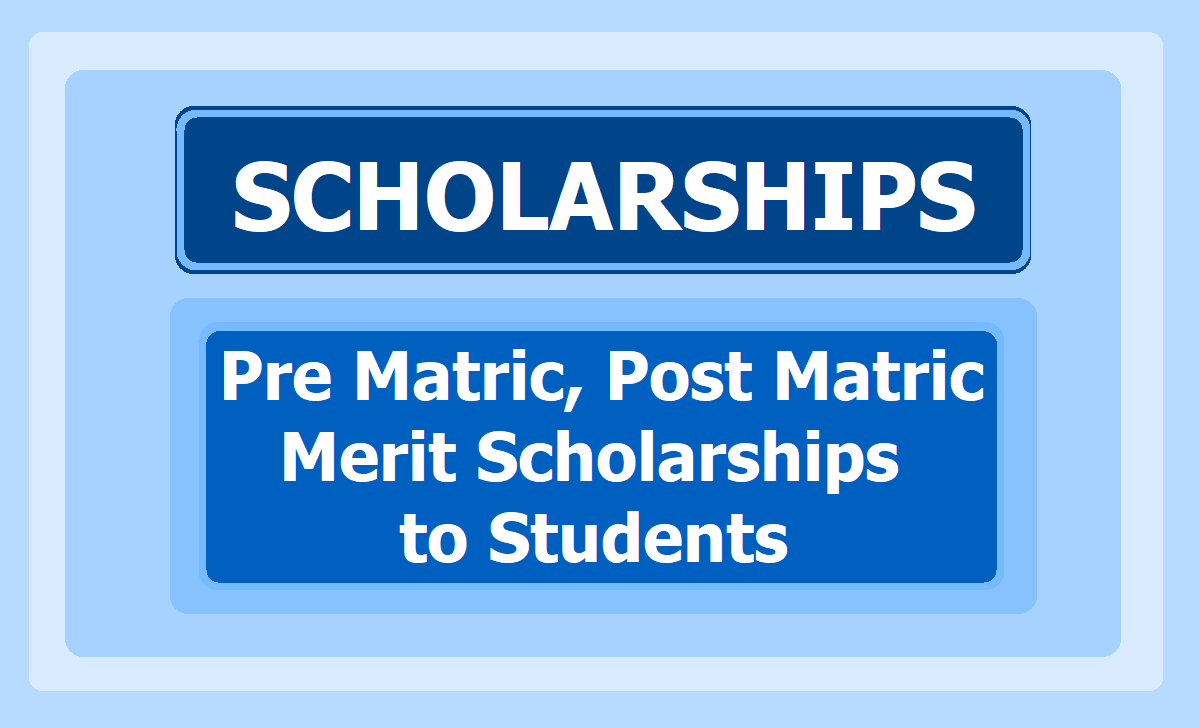 Pre Matric, Post Matric, Merit Scholarships to SC/ST/BC/Minority Students, Apply Online at NSP