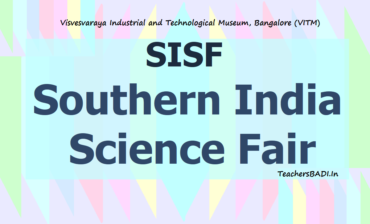SISF Southern India Science Fair