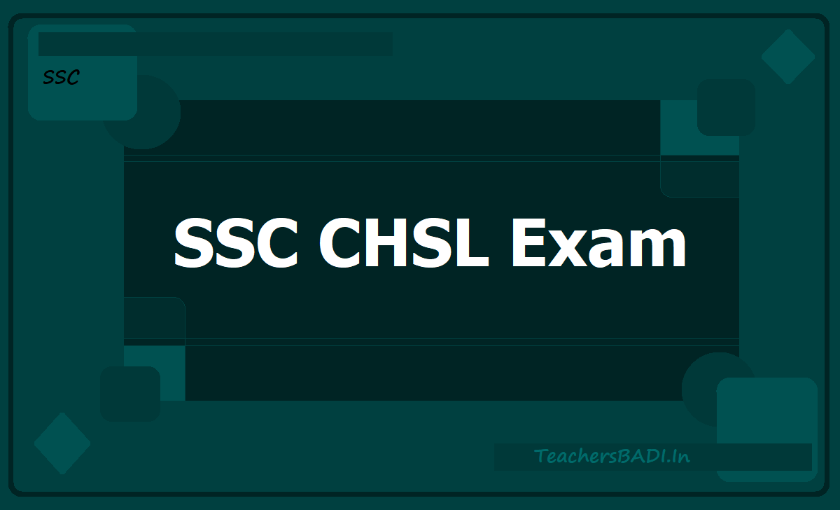 SSC CHSL Exam 2020, Apply Online till January 10
