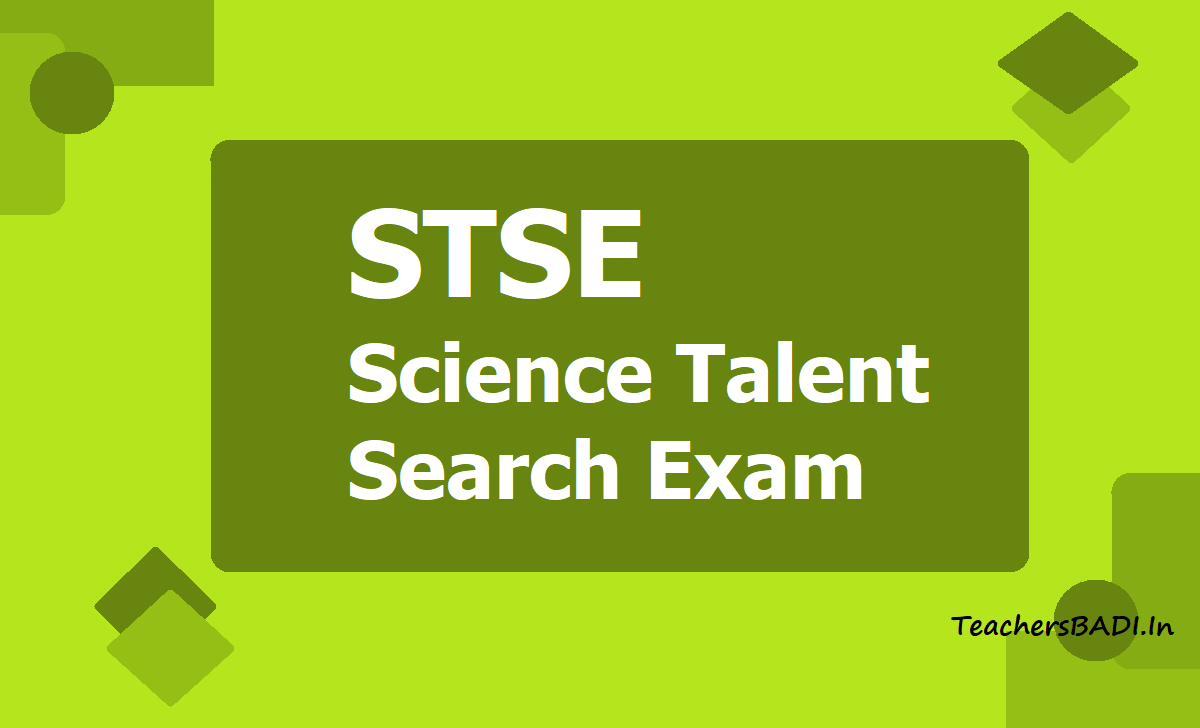 STSE Science Talent Search Exam 2020