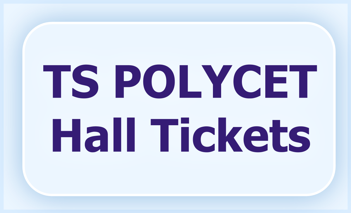 TS POLYCET Hall tickets