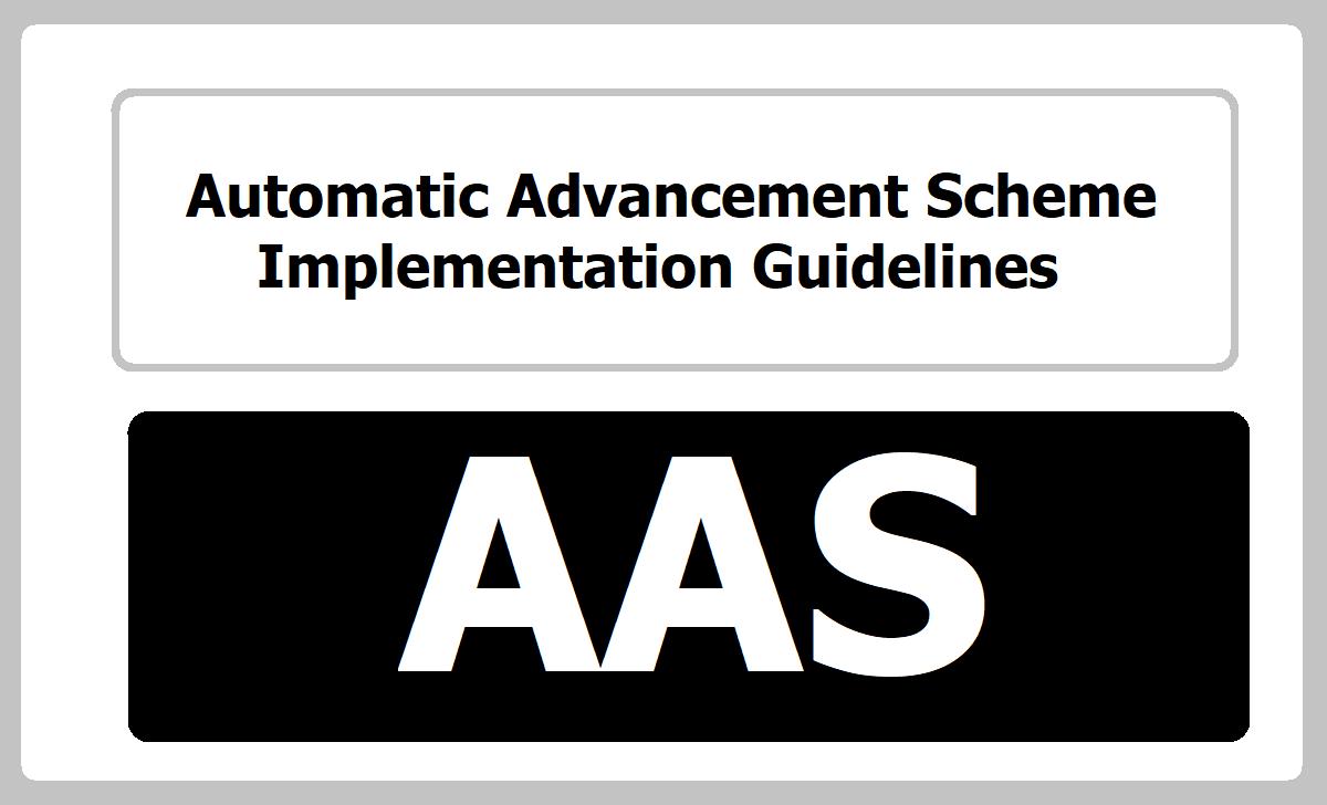 GO.38 PRC 2015 AAS/Automatic Advancement Scheme Implementation Guidelines