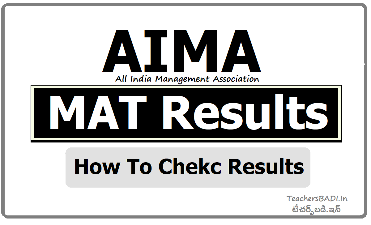 AIMA MAT Results