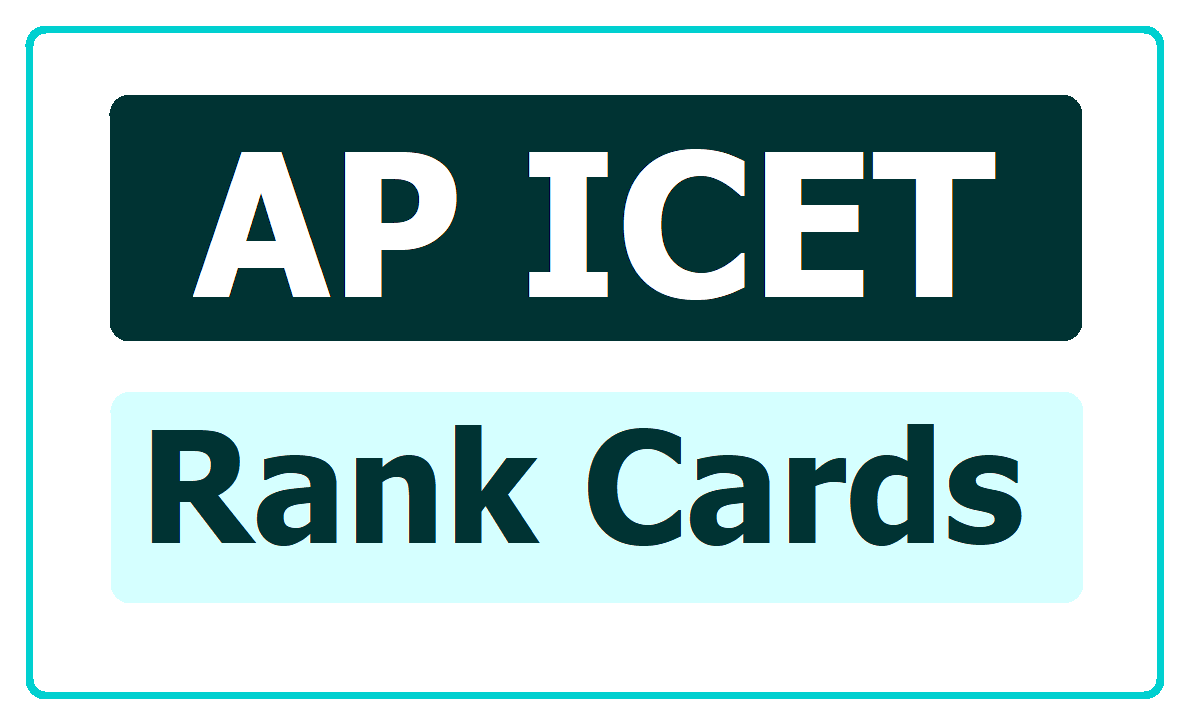 AP ICET Rank Cards 2020 & How to Download fromsche.ap.gov.in