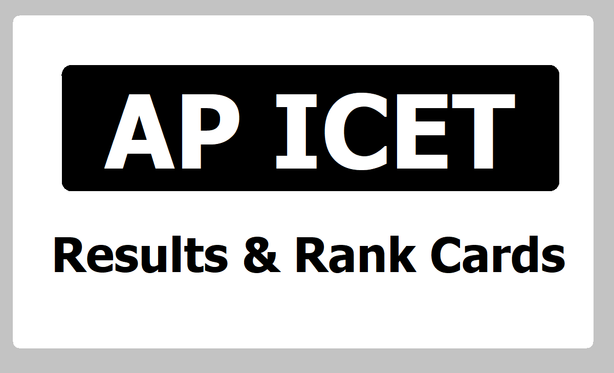 AP ICET Results & Rank Card 2020 download