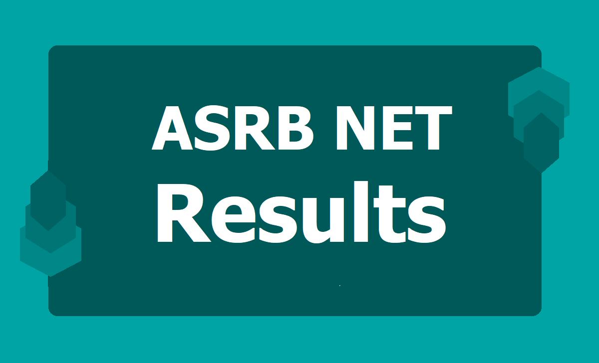 ASRB NET Results