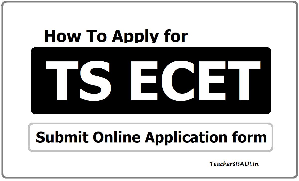 TS ECET Online Application 2021