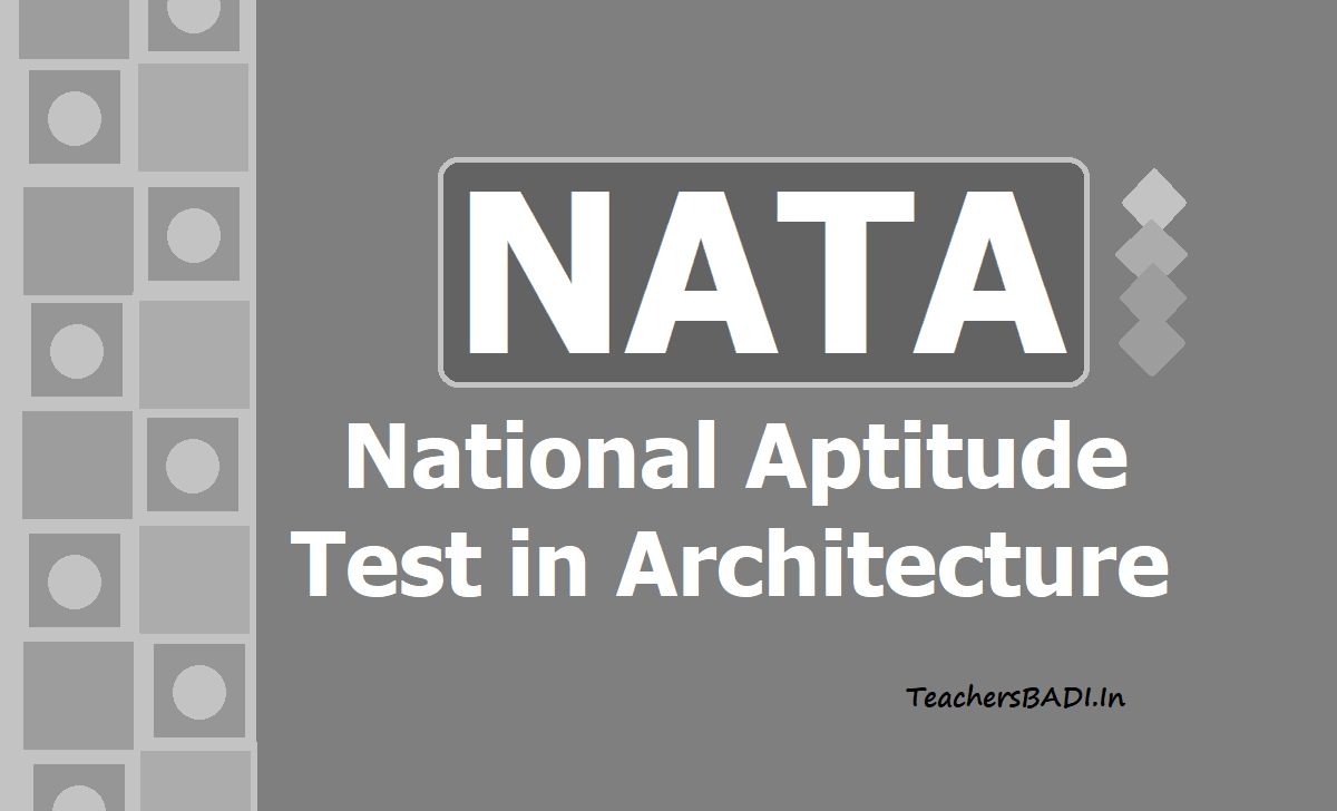 NATA Registration 2020 for National Aptitude Test in Architecture