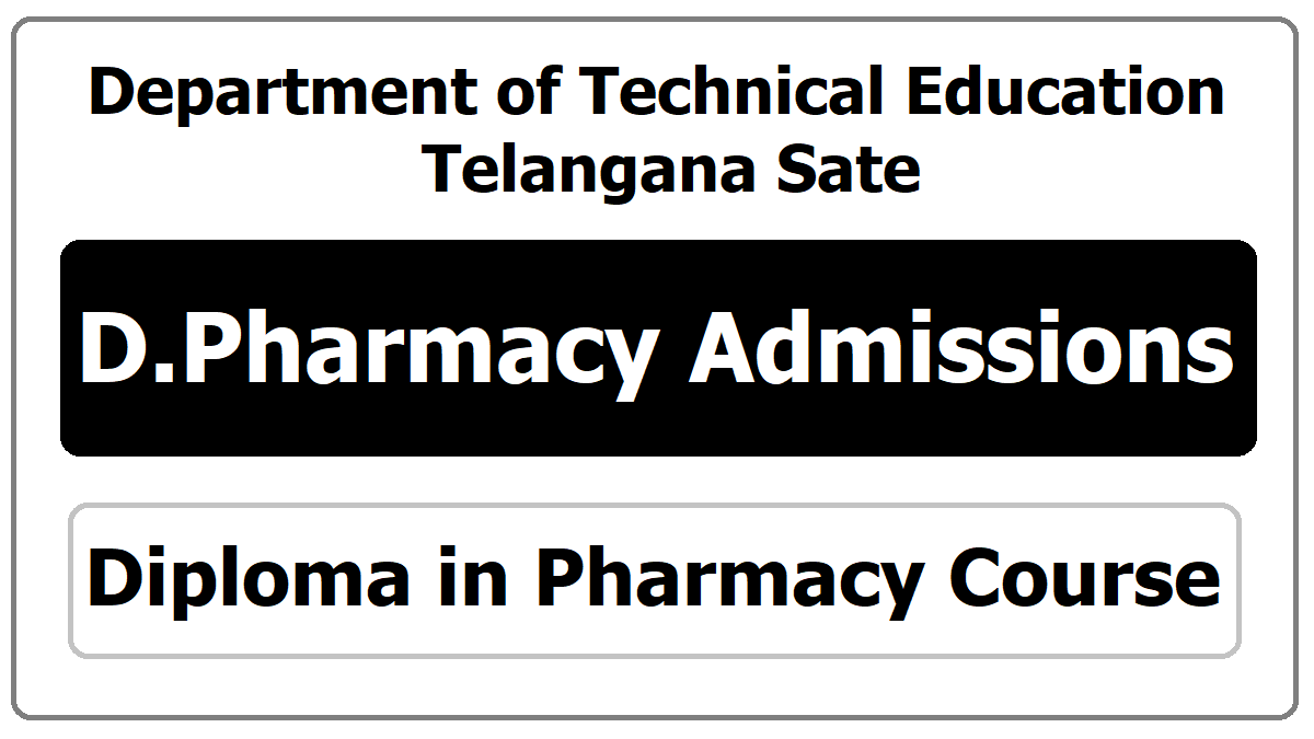 TS D Pharmacy Admissions