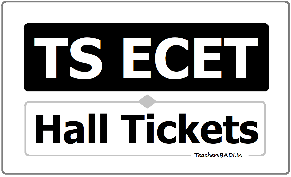 TS ECET Hall Tickets