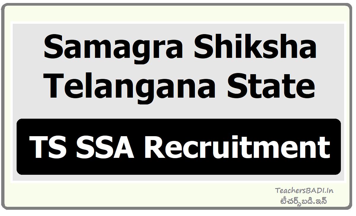 TS SSA Recruitment