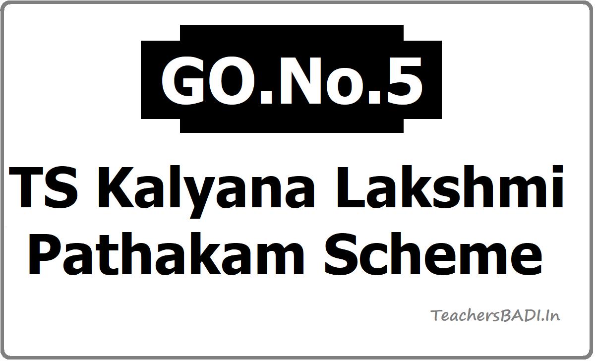 TS Kalyana Lakshmi Pathakam Scheme for BC Unmarried girls