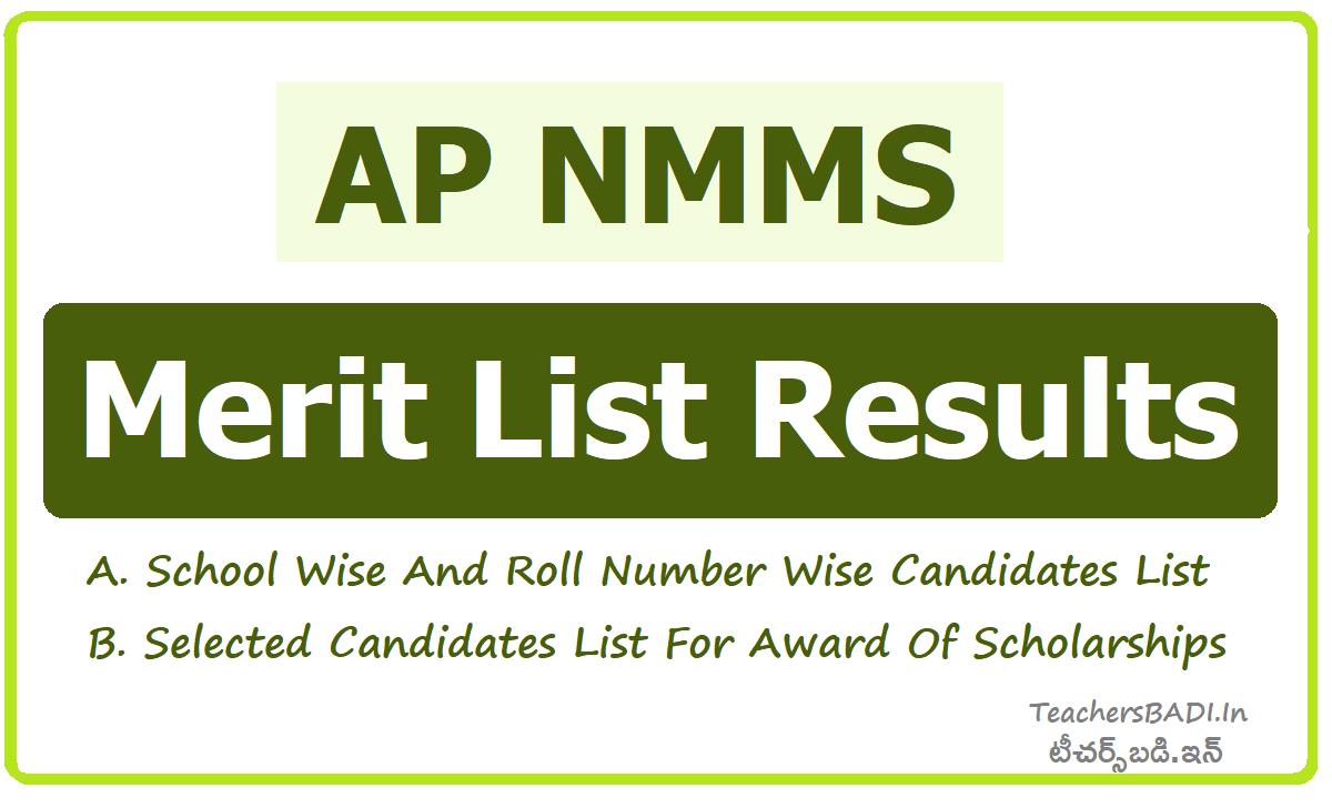 AP NMMS Results