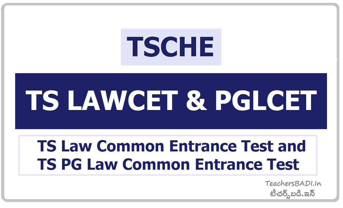 TS LAWCET & PGLCET notification